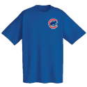 Chicago Cubs Official Wordmark Short Sleeve T-Shirt